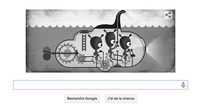 Le doodle de Google ©  Google