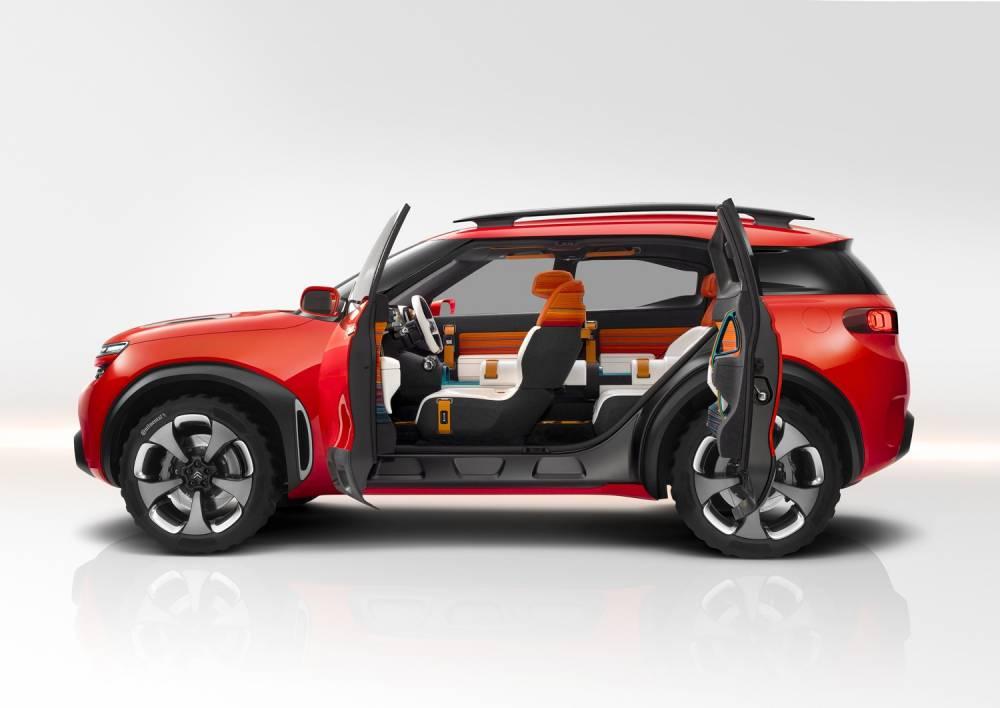 Le conceptSUV Citroên tend les portes aux usagers chinois ©  Citroën