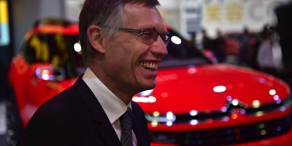 Carlos tavares eput être heureux, PSA a établi un record de progression des ventes en Chine ©  DR