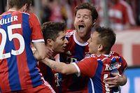 Le Bayern a encore fait preuve d'une belle démonstration collective. ©Lukas Barth / ANADOLU AGENCY