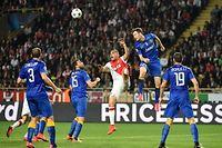 La défense de la Juventus s'est montré intraitable au Stade Louis II. ©PASCAL GUYOT