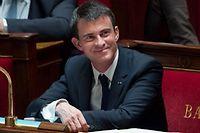 Le Premier ministre Manuel Valls à l'Assemblée nationale, (Photo d'illustration). ©Chamussy