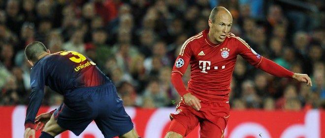 Gérard Piqué et Arjen Robben vont à nouveau devoir croiser le fer en demi-finale.