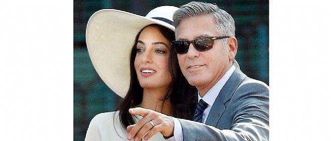 L'acteur a épousé le 29 septembre, à Venise, l'avocate Amal Alamuddin.