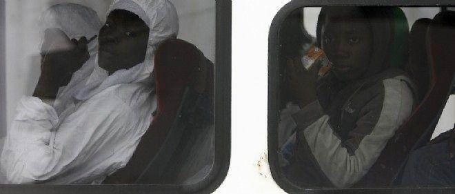 Des migrants africains en Sicile, le 20 avril 2009. Photo d'illustration.