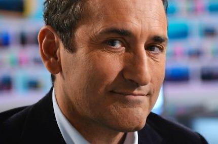 Pascal Houzelot, président de la chaine Numéro 23, ici en 2012. ©  IBO/SIPA