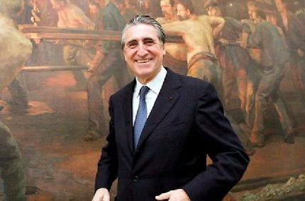 Ernest-Antoine Seillière le 15 novembre 2004. ©  C.DAUMERIE/MAXPPP