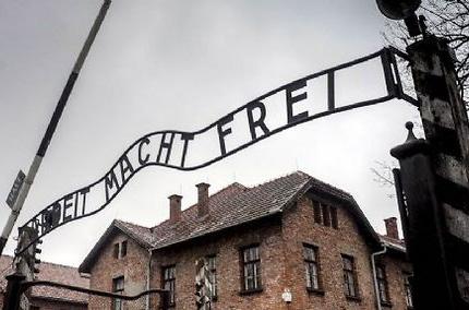 L'entrée du camp d'extermination d'Auschwitz ©  Valeriy Melnikov/RIA