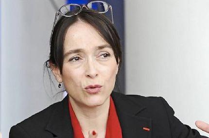 Delphine Ernotte, nouvelle présidente de France Télévisions ©  Joël Philippon/Le Progrès/Maxppp