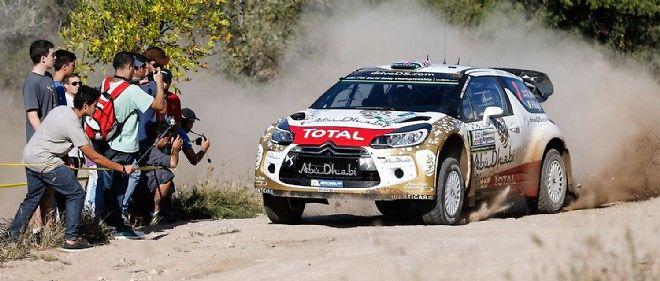 Les ennuis qui ont retardé les VW Polo ont permis à Kris Meeke de prendre la tête du rallye.