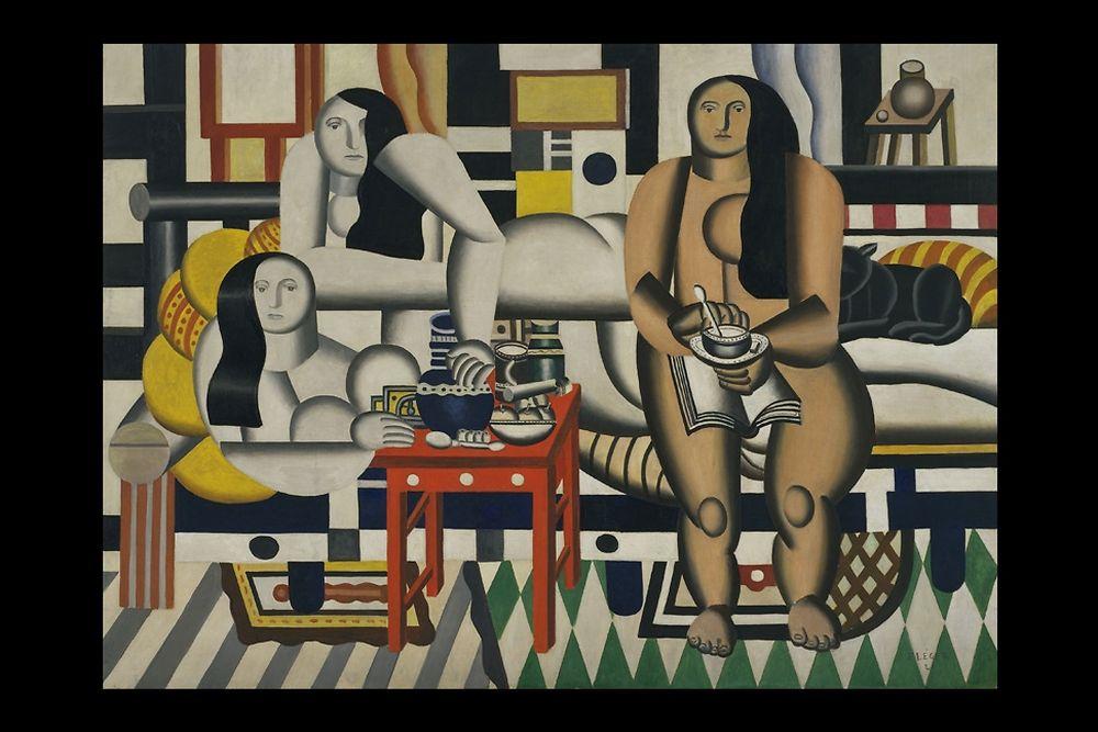 """""""Trois Femmes (Le Grand Déjeuner)"""" (1921-1922) de Fernand Léger"""