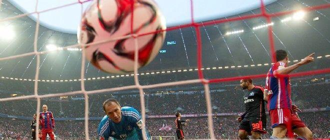 But du Baryern Munich, qui remporte sa 25e Bundesliga.