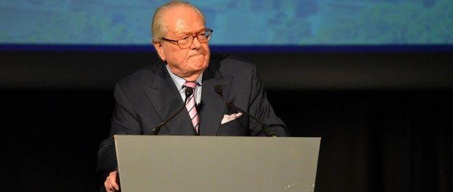 Jean-Marie Le Pen, président d'honneur du Front national.