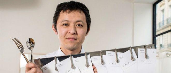 """Takao Takano """"pour un étranger, c'est un véritable challenge de s'installer ici, la réputation culinaire de la ville fait que de plus en plus de chefs japonais viennent s'y établir."""""""