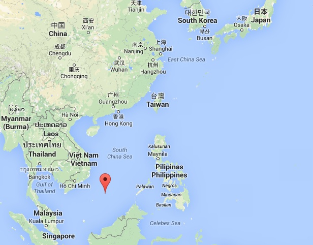 mer de chine orientale