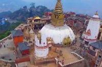 Un drone a survolé Katmandu pour montrer l'étendue des destructions engendrées par le séisme.