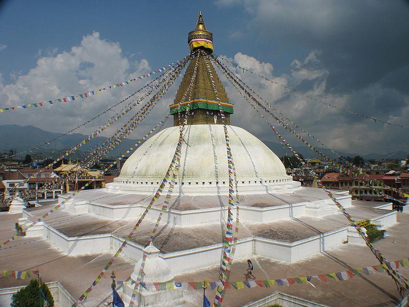 Le Stupa de Bodnath ©  Superikonoskop/Wikicommons