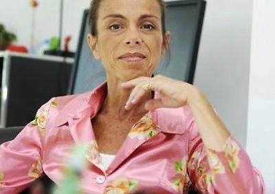 L'ancienne présidente de l'INA, Agnès Saal ©  DOMINIQUE FAGET / AFP