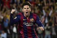 Avec un doublé et une passe déciive, Léo Messi a dynamité la défense du Bayern (3-0). ©PIERRE-PHILIPPE MARCOU