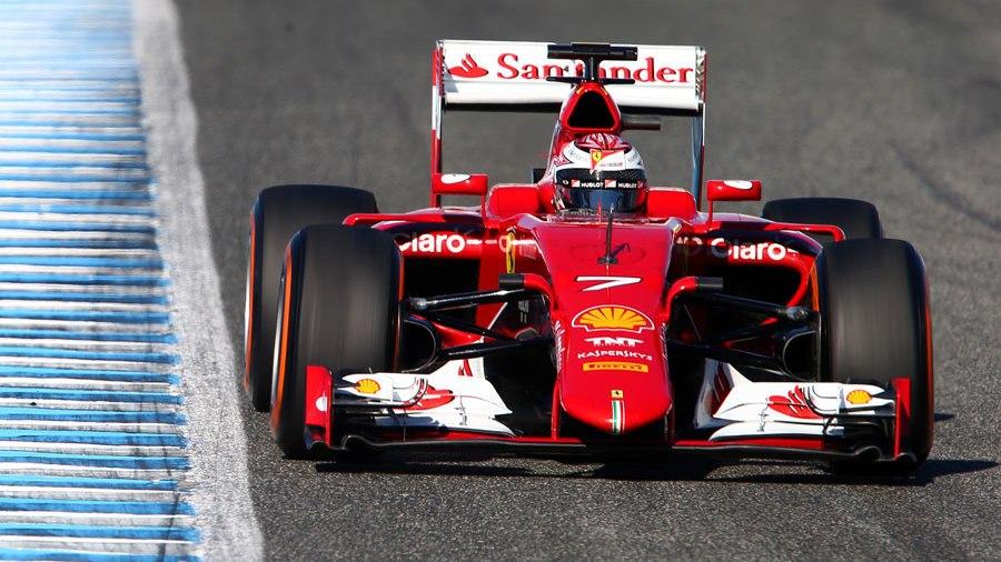 Kimi Räikkönen à Bahreïn. ©  DR