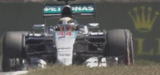 Lewis Hamilton au cours de ce GP. ©  DR