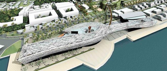 Le mémorial de l'esclavage érigé en Guadeloupe aura coûté plus de 80 millions d'euros.