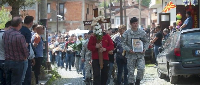 Des affrontements ont fait 22 morts en Macédoine, ce week-end.