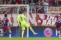 Thomas Müller a offert une victoire du Bayern (3-2) insuffisante pour empêcher le Barça d'aller en finale. ©STR