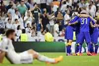 La Juve a décroché son ticket pour la finale grâce à un nul 1-1 sur la pelouse du Real Madrid. ©GERARD JULIEN