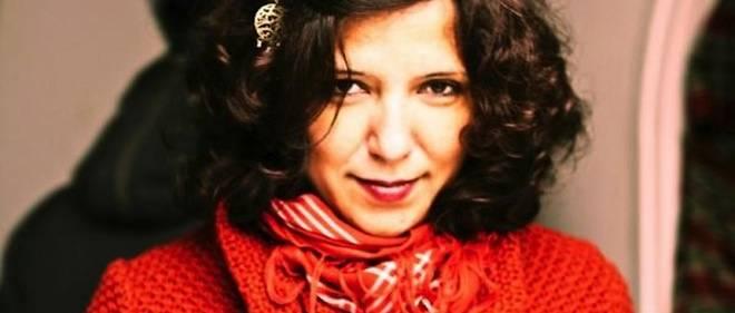 """La réalisatrice du film """"Le Challat de Tunis"""", Kaouther Ben Hania."""