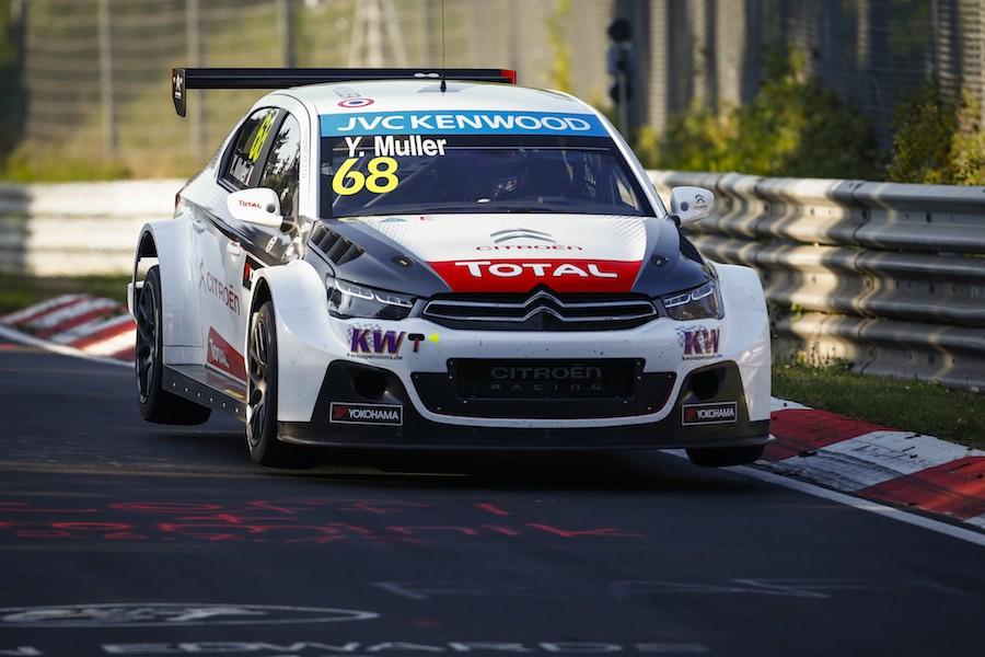 Yvan Muller, sur le circuit allemand. ©  Florent Gooden / DPPI