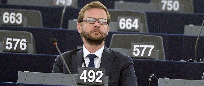 Jérôme Lavrilleux au Parlement européen, photo d'illustration.