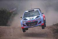 Thierry Neuville, ici lors du rallye d'Argentine, a confirmé qu'il resterait chez Hyundai la saison prochaine. ©DIEGO LIMA