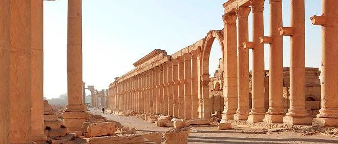 Le temple de Baalshamin a été inauguré en 130 apr. J.-C. lors de la visite de l'empereur Hadrien.
