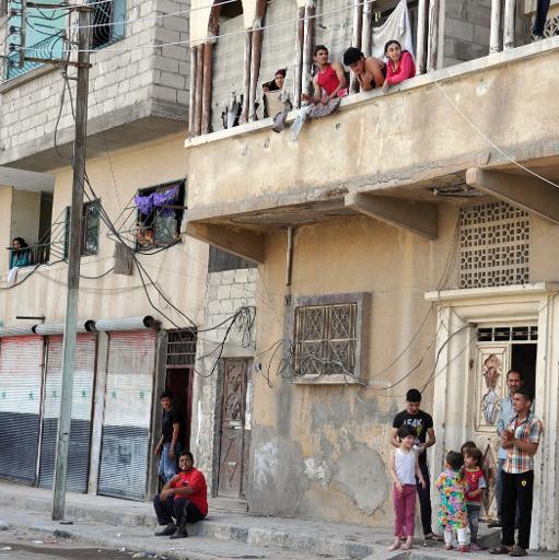 Une rue de Palmyre, le 18 mai 2015 ©  AFP/Archives