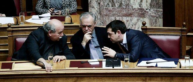 La Grèce ne pourra pas rembourser le FMI en juin, a annoncé le ministre de l'Intérieur, Nikos Voutsis.