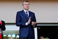 Dmitry Rybolovlev est président de l'AS Monaco depuis 2011. ©Philippe LAURENSON