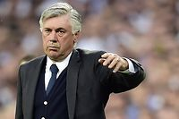 L'entraîneur du Real Madrid Carlo Ancelotti. ©Gérard Julien