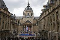 Des associations d'anciens combattants et des politiques sont opposés à la canonisation de Jean Zay. ©THOMAS SAMSON