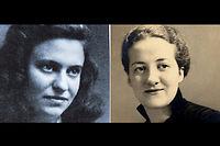 """Marie-José Chombart de Lauwe (à gauche) et Germaine Tillion (à droite), ici au début des années 40 ©Sandrine Roudeix/Réa pour """"Le Point"""" - Collection particulière"""