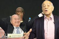 Eugène Saccomano ne croit pas du tout en un revers du président sortant de la Fifa.