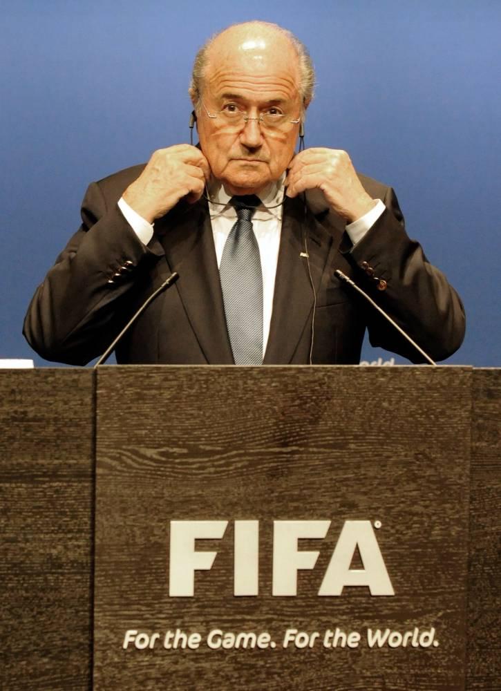 FIFA - Joseph Blatter © WINFRIED ROTHERMEL AFP