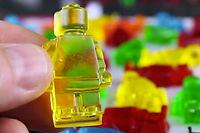Des bonbons en forme de Lego peuvent facilement être fabriqués !