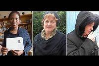 Soly, Amira, Lucienne, trois femmes sans domicile à Paris.