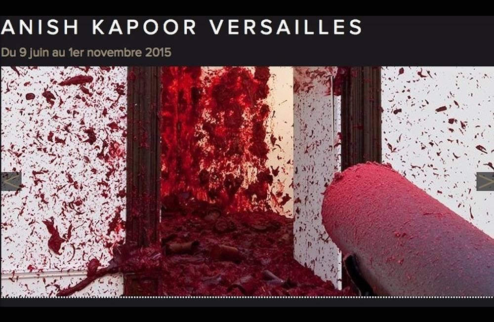kapoor ©  Capture écran/www.chateauversailles-spectacles.fr