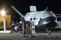 La navette X-37B de l'US Air Force, en 2010. ©US Air Force
