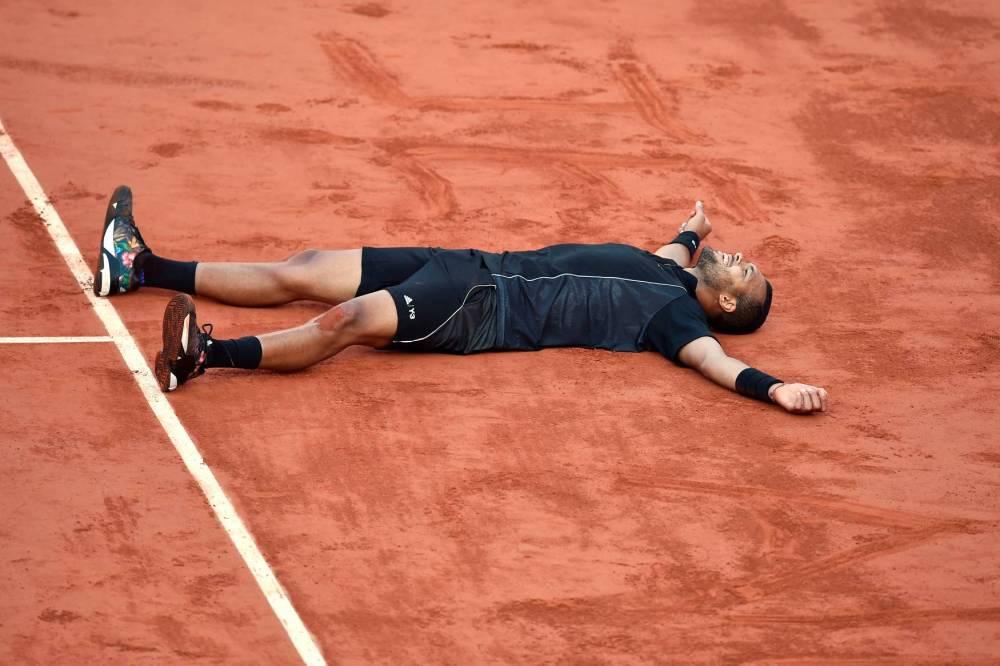 TENNIS-FRA-OPEN © PASCAL GUYOT AFP PHOTO / PASCAL GUYOT