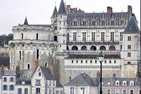 Le château d'Amboise. ©Frédéric Lewino