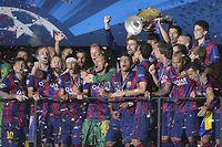 Cette nouvelle victoire en C1 du Barça couronne une sacré génération de joueurs. ©Olivier Lang
