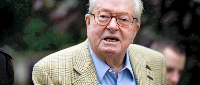 Le cofondateur du Front national Jean-Marie Le Pen, photo d'illustration.